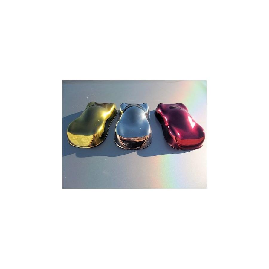 Chrome color for Peinture chrome effet miroir