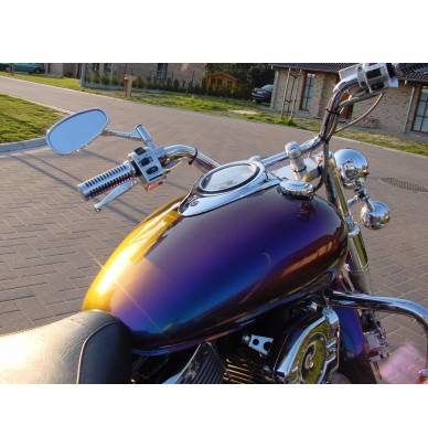 kit de peinture moto effet cam l on kits de peinture moto. Black Bedroom Furniture Sets. Home Design Ideas
