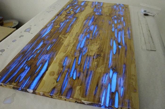 Réaliser Une Table Phosphorescente