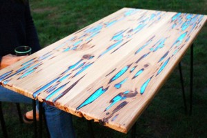 R 233 Aliser Une Table Phosphorescente