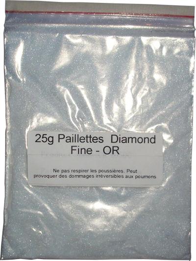 Nacres et paillettes diamant paillettes et nacres for Peinture avec paillette de mica