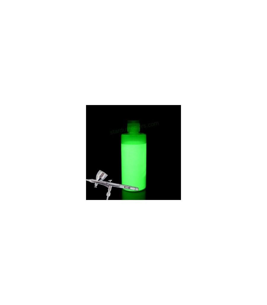 peinture photoluminescente fluide pour pistolet et a rographe peintures l 39 eau. Black Bedroom Furniture Sets. Home Design Ideas