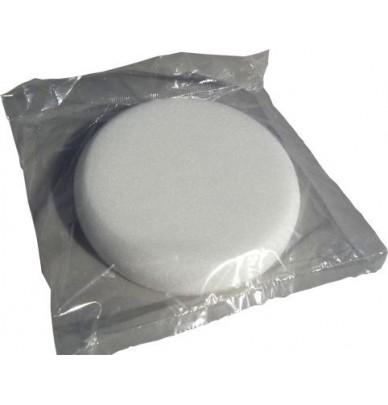 Mousse de lustrage blanche