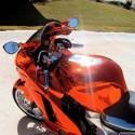 Kit effet Chrome ou chrome coloré pour moto