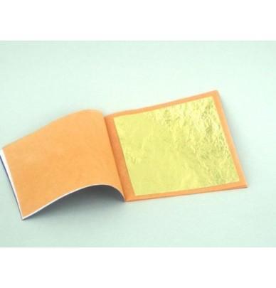 Feuilles d'or pour dorure 22ct 12ct et imitation