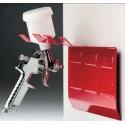 Support métallique magnétique pour 2 pistolets de carrosserie