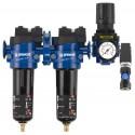 Filtres purificateurs d'air pour compresseurs et pistolets