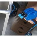 Pulvérisateur double buse en plastique pour argenture