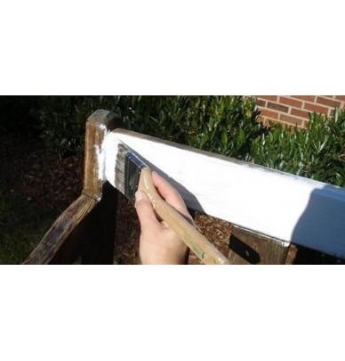 Laque brillante de décoration pour bois et métaux BESA-POL