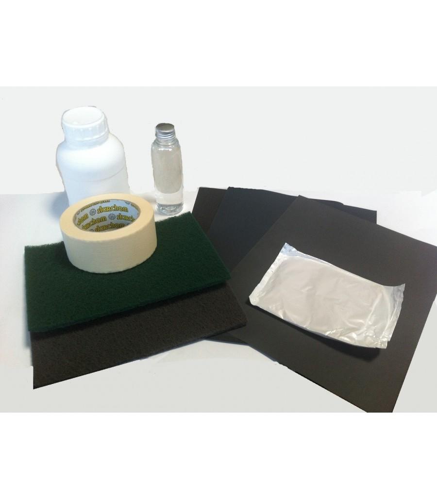 Kit De Preparation De Carrosserie Avant Peinture Code Couleur Voiture