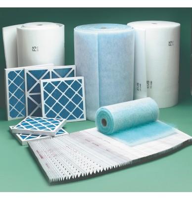 Filtres pour cabines de peinture