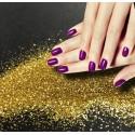 Paillettes Métallisées Nail Art - série A