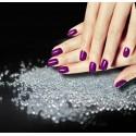Microbilles réfléchissantes pour Nail Art