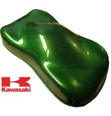 Peinture Vert Lime KAWASAKI - 40R - GOLDEN BLAZED GREEN MET