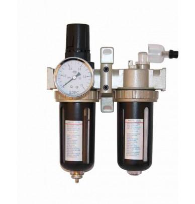 Filtre à air humidité et particules avec régulateur de pression