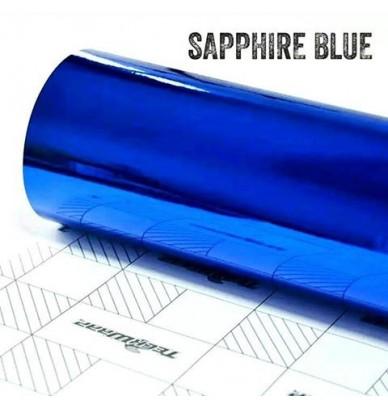 Covering Bleu Chrome qualité premium OEM automobile- rouleau 1.52m x 18m