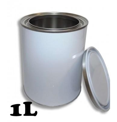 Pots métalliques pour peinture avec couvercle de 300ml à 5L