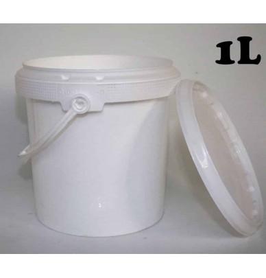 Pots plastiques de 100ml à 1 Litre avec couvercle