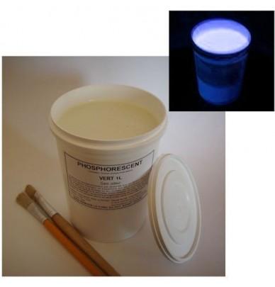 1L Peinture ART' à l'eau Phosphorescente VERTE