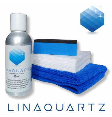 Revêtement de protection permanent Nano Ceramique LiNaQuartz® 9H 62ml