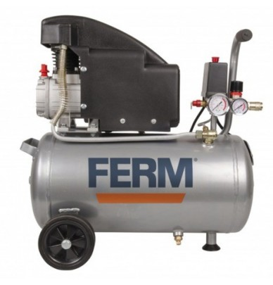 Compresseur d'air 24L FERM pour outils pneumatiques