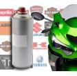 Bombe de peinture moto en teinte d'origine