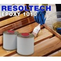 Résine 1010 Epoxy à l'eau pour vernissage ou imprégnation