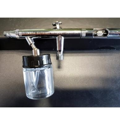 Godets pour aérographe en verre 16ml
