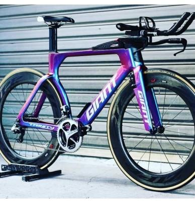 Kit complet pour vélo - peinture à effet caméléon