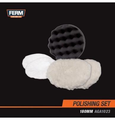 Mousses et disques de Polissage 180mm pour lustreuse