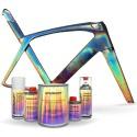 More about Kit complet de peinture holographique pour vélo