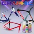 Kit de peinture vélo Graphic Design