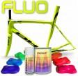 Kit complet de peinture fluorescente pour vélo