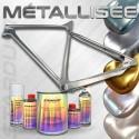 Kit de peinture vélo métallisée – 23 couleurs au choix