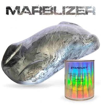 Marbelizer Effet marbré SILVER WHITE 1L