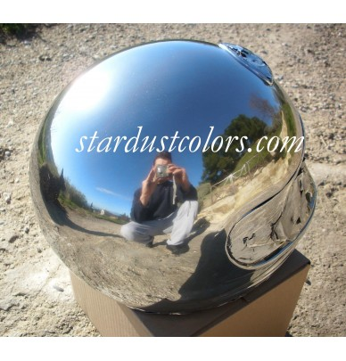 Peinture Chrome Miroir De L  L  Application Au Pistolet