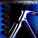 kit de peinture vélo Black Interference – 6 couleurs