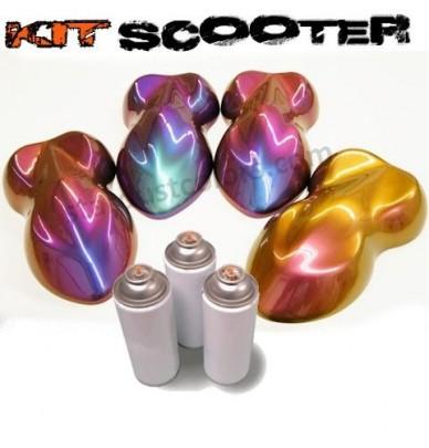 Kit Scooter Peinture caméléon