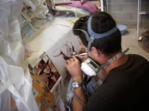 laque et peinture Bi-couche