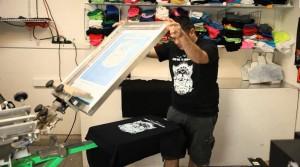 peinture phosphorescente textile