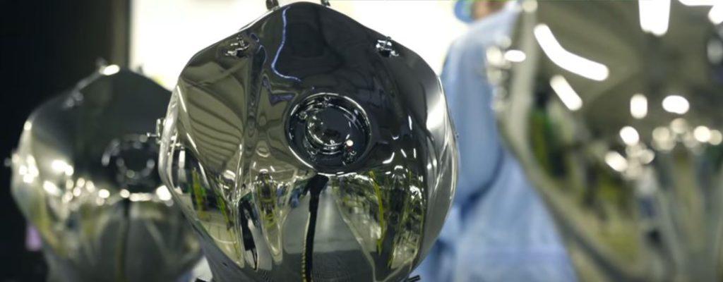 réaliser la peinture de la Kawasaki H2R