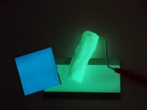 Hélidrôme phosphorescent