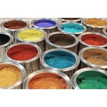 Pigments en poudre pour peinture