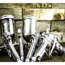 Outils et accessoires pour peindre un vélo