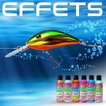 Les effets spéciaux et additifs pour peindre des leurres