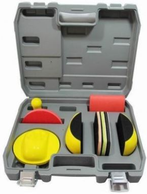 Valise d'accessoires pour ponçage de carrosserie
