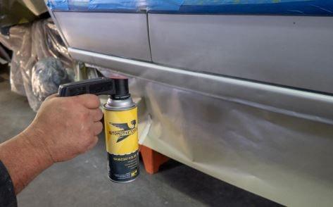 Bombe peinture voiture