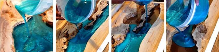 Colorer une résine epoxy