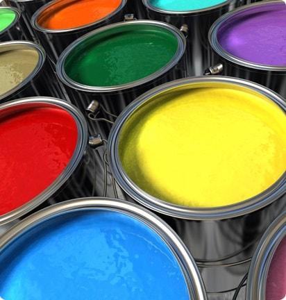 La composition des pigments de peinture voiture