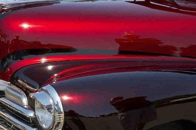 Effet de teintes pour peinture auto